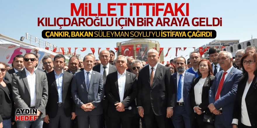 Millet İttifakı Kılıçdaroğlu için bir araya geldi