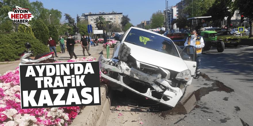 Eski Dörtyol kavşağında kaza