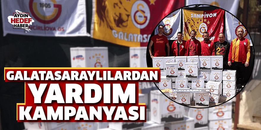 Galatasaraylılardan yardım kampanyası