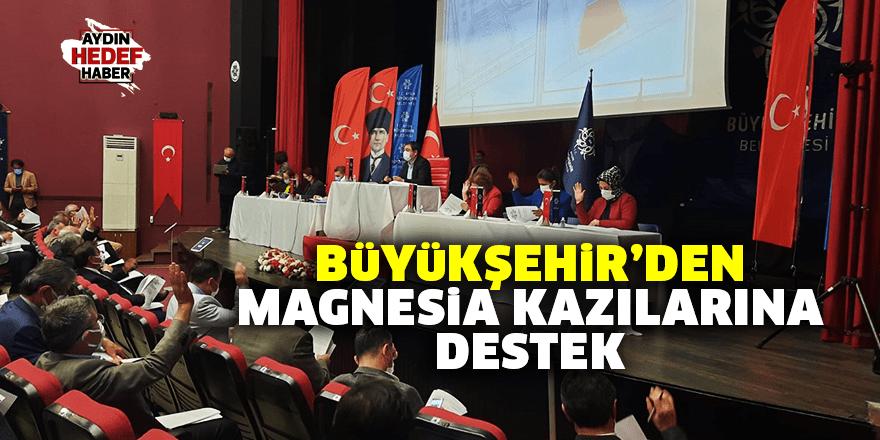 Büyükşehir'den Magnesia kazılarına destek