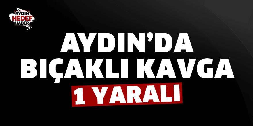 Aydın'da bıçaklı kavga:1 yaralı