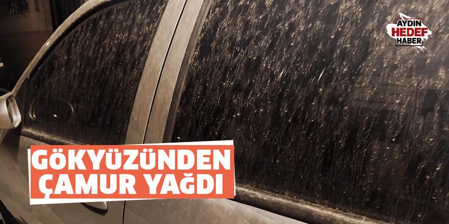Gökyüzünden çamur yağdı