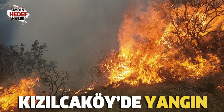 Kızılcaköy'de yangın çıktı