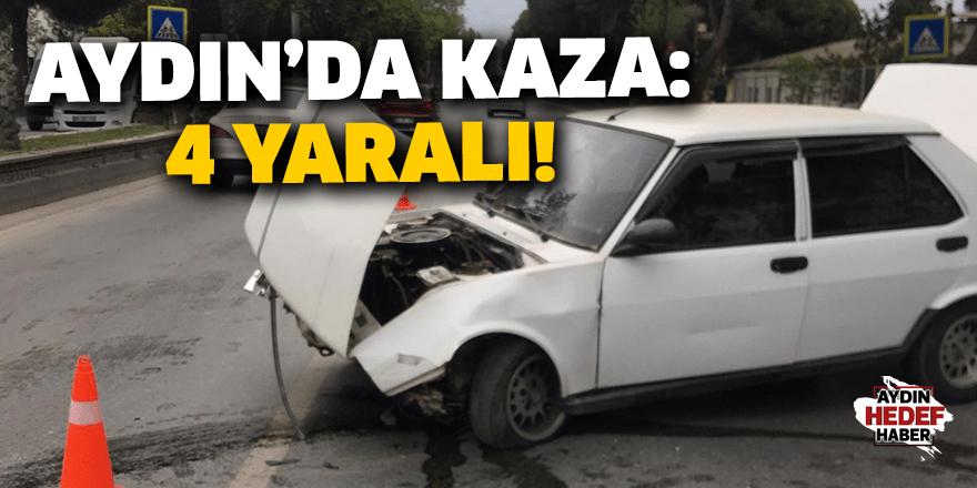 Efeler'de kaza: 4 yaralı