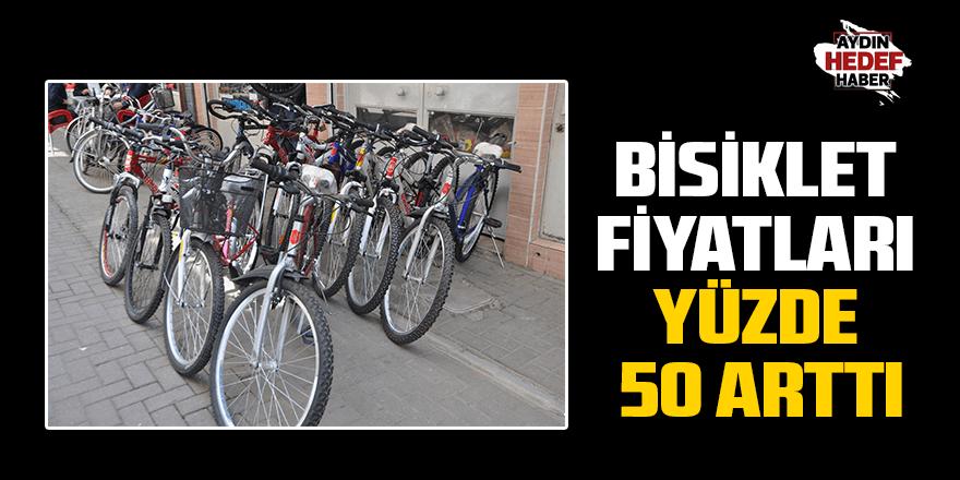 Bisiklet fiyatları yüzde 50 arttı