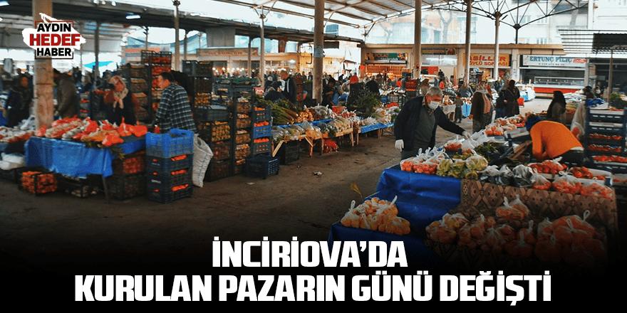İnciriova'da kurulan pazarın günü değişti