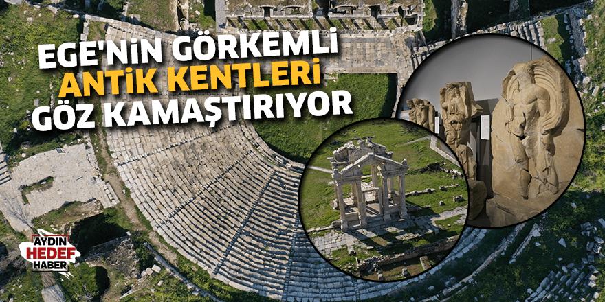 Ege'nin görkemli antik kentleri göz kamaştırıyor
