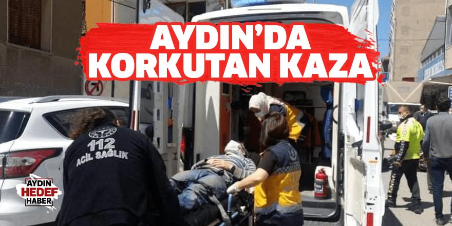 Söke'deki kazada 1 kişi yaralandı