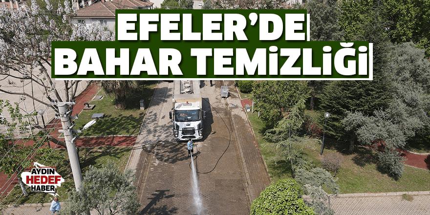 Efeler'de bahar temizliği