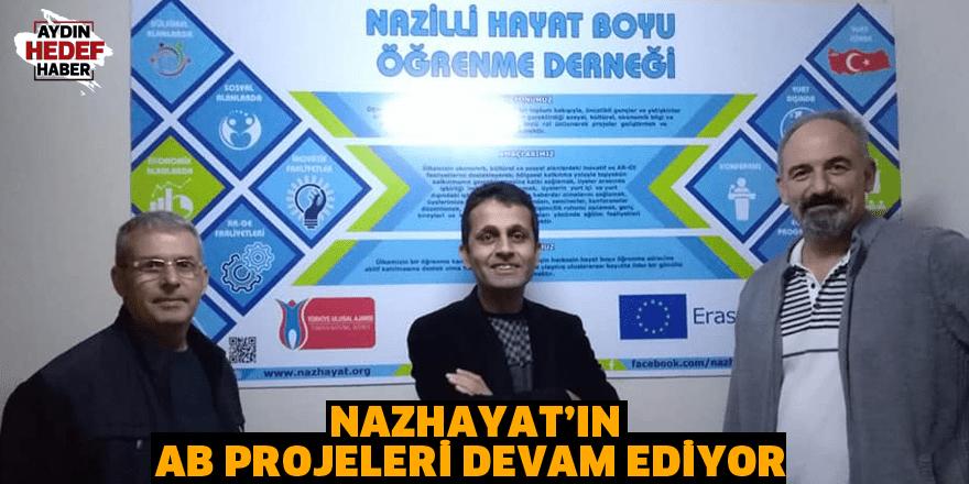 NAZHAYAT'ın AB projeleri devam ediyor