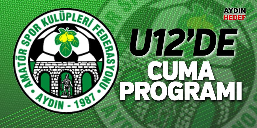 U12'de Cuma programı