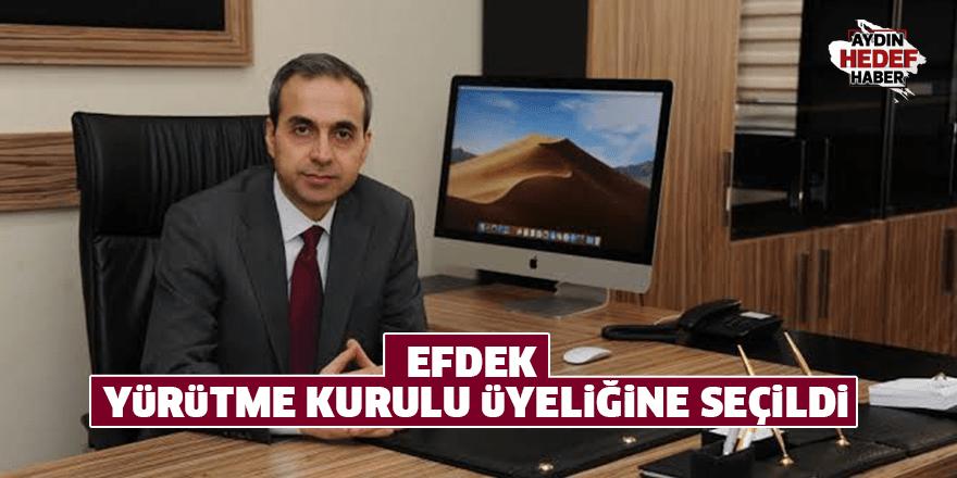 EFDEK Yürütme Kurulu Üyeliğine seçildi