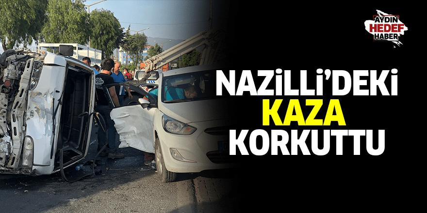 Nazilli'de kaza : 4 yaralı