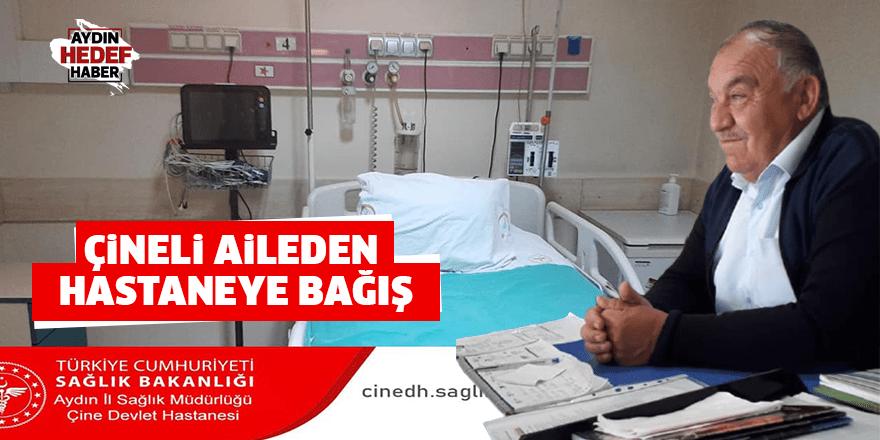 Çineli aileden hastaneye bağış