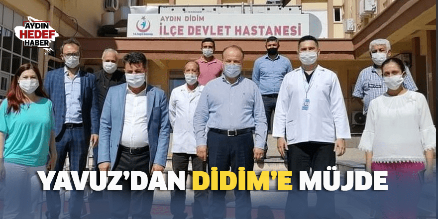 Yavuz'dan Didim'e müjde