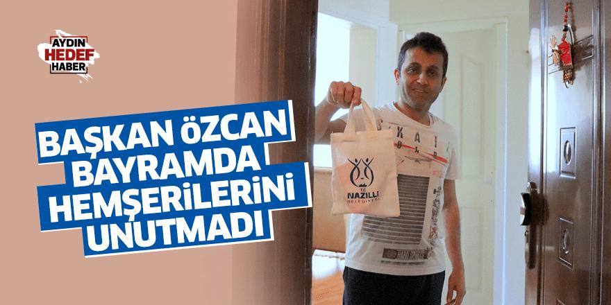 Başkan Özcan'dan hemşerilerine bayram hediyesi