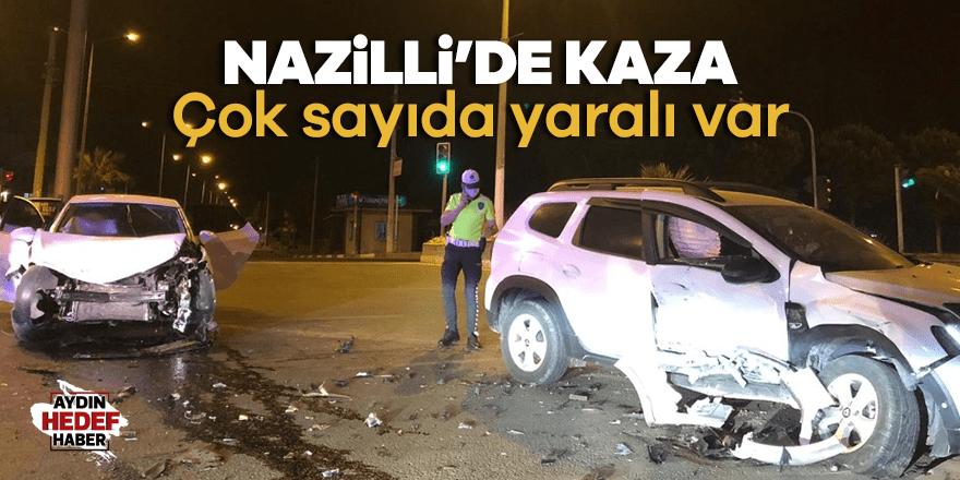 Nazilli'de kaza: Çok sayıda yaralı var