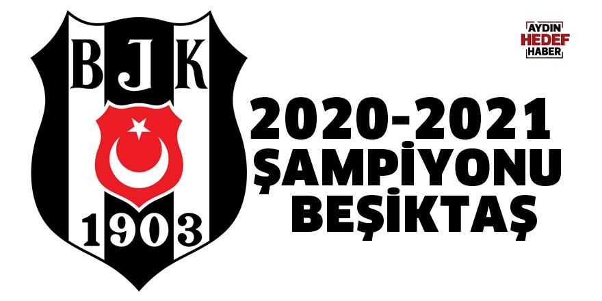 2020-2021  şampiyonu Beşiktaş
