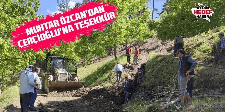 Muhtar Özcan'dan Çerçioğlu'na teşekkür