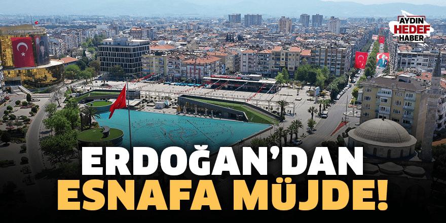 Erdoğan'dan esnafa müjde!