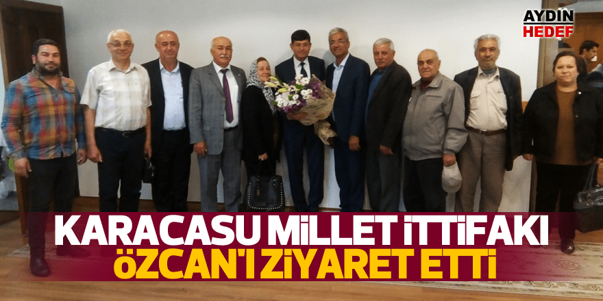 Başkan Özcan'a ziyaret