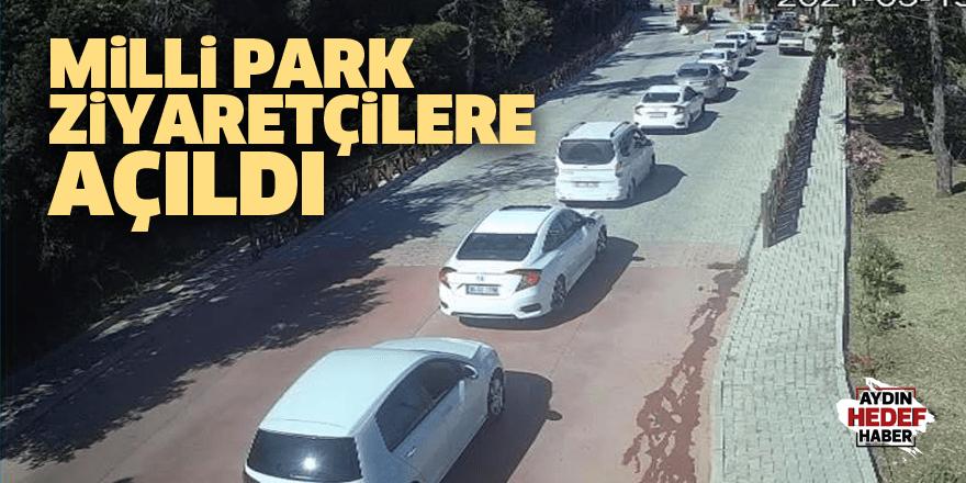 Milli Park ziyaretçilere açıldı