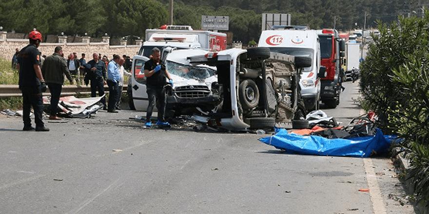 İzmir'de trafik kazası
