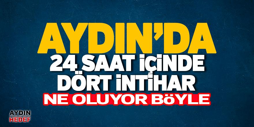 Aydın'da bir günde 4 intihar