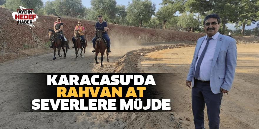Karacasu'da rahvan at severlere müjde