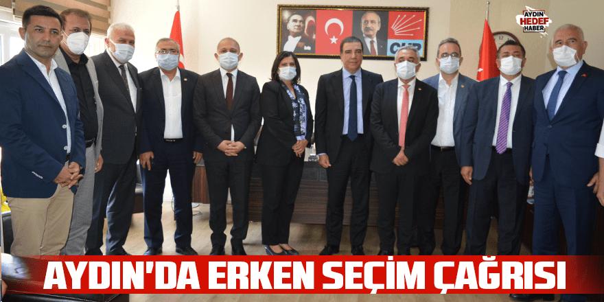 """""""Erken seçimi Türkiye'nin ihtiyacı olduğu için istiyoruz"""""""