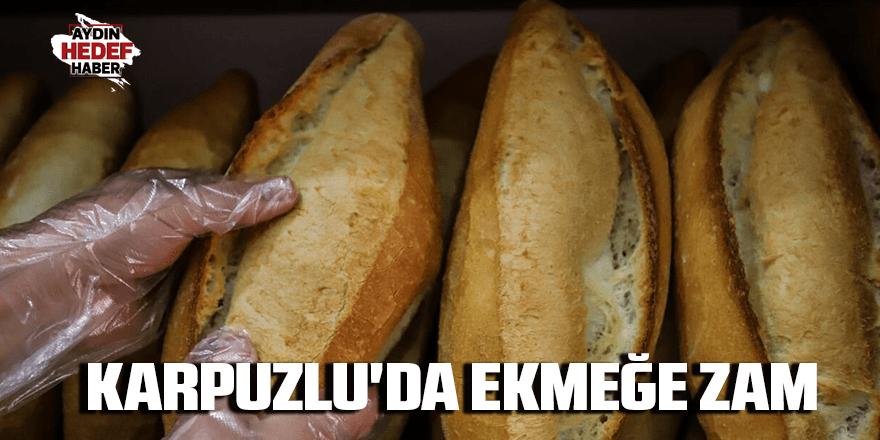 Karpuzlu'da ekmeğe zam