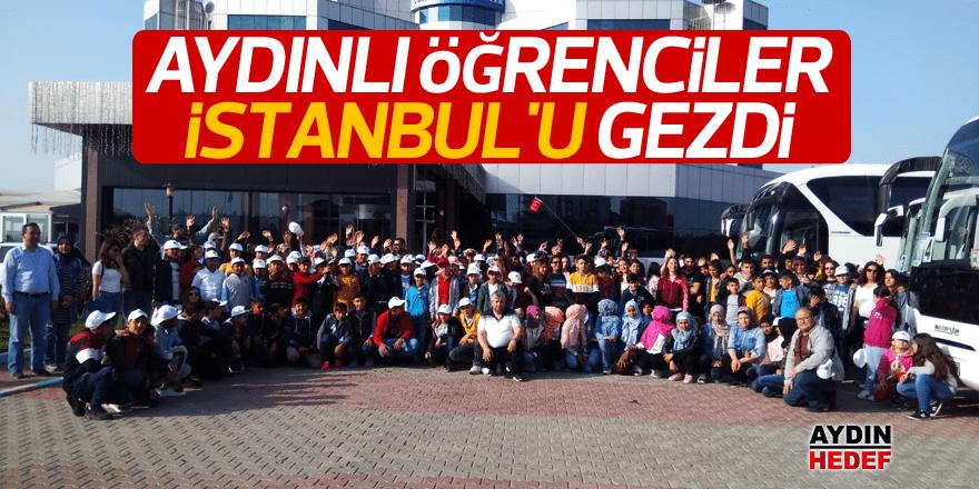 İlk kez İstanbul'u gezmenin mutluluğunu yaşadılar