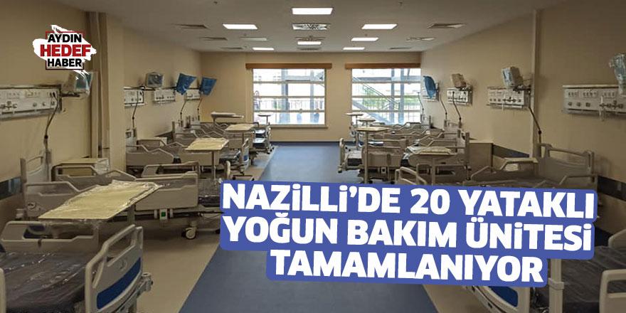 NDH 20 yataklı yoğun bakım ünitesine tamamlanıyor