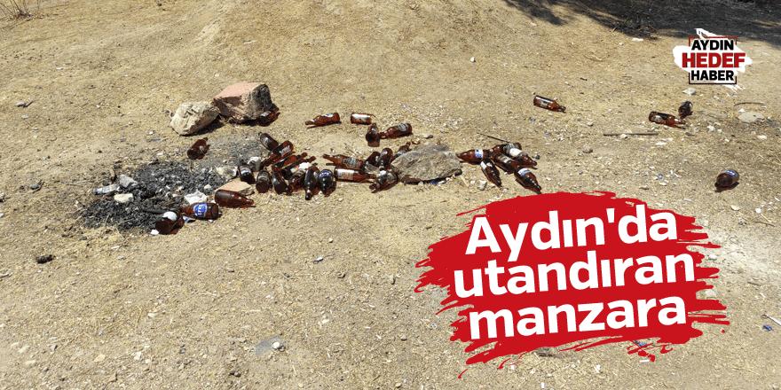 Aydın'da utandıran manzara