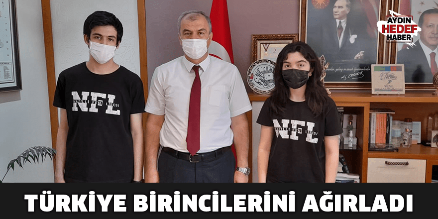 Müdür Okumuş Türkiye birincilerini ağırladı