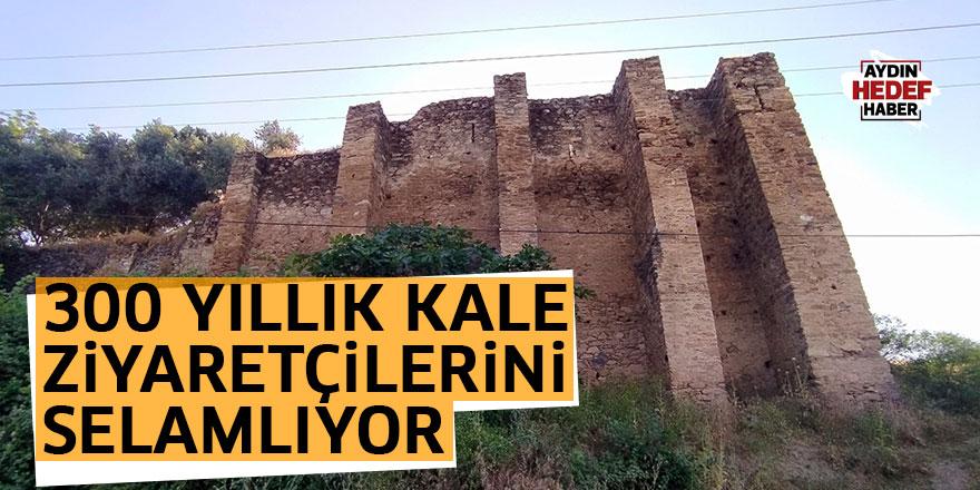 300 yıllık kale ziyaretçilerini selamlıyor