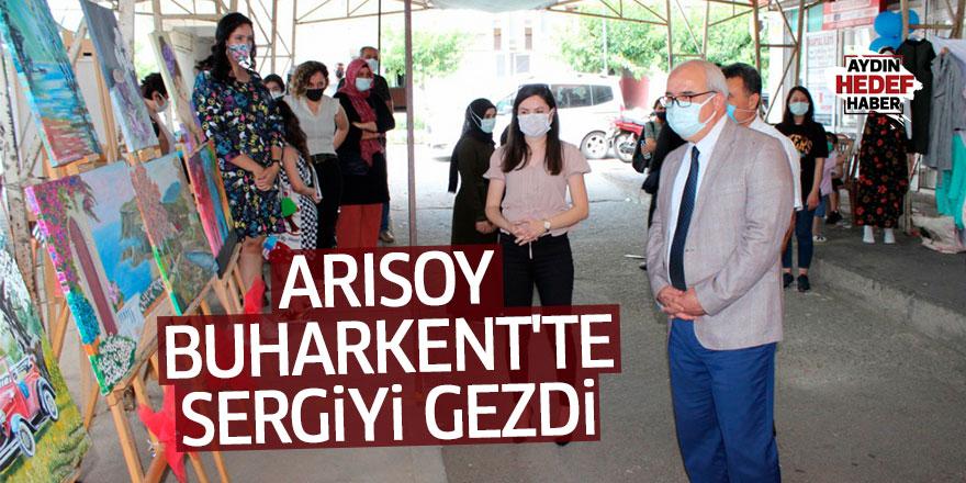 Kaymakam Arısoy, Buharkent'te sergiyi gezdi