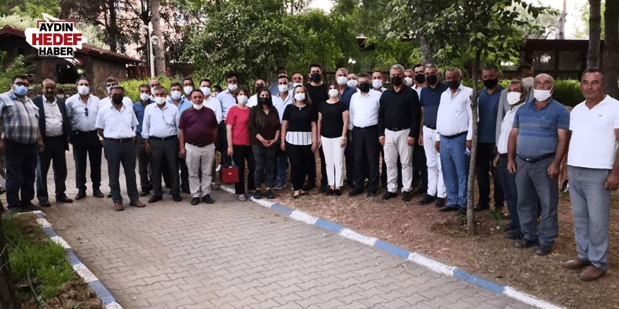 AK Partililer, Karacasu'da istişare yaptı