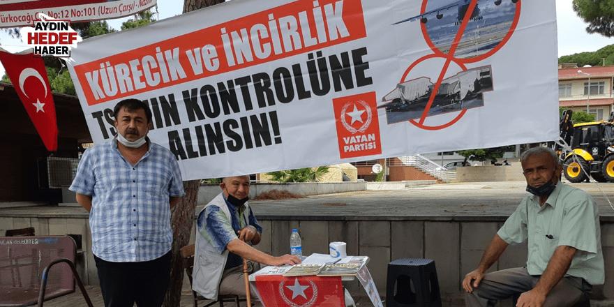 Vatan Partisi Kuyucak'ta imza topluyor