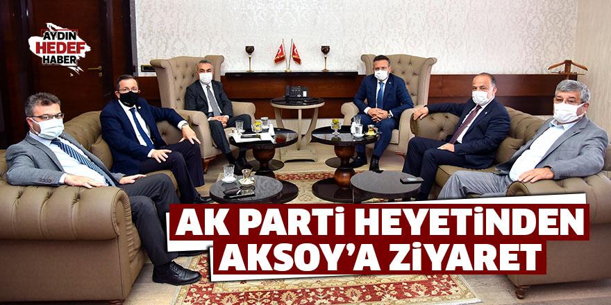 AK Parti heyetinden Aksoy'a ziyaret