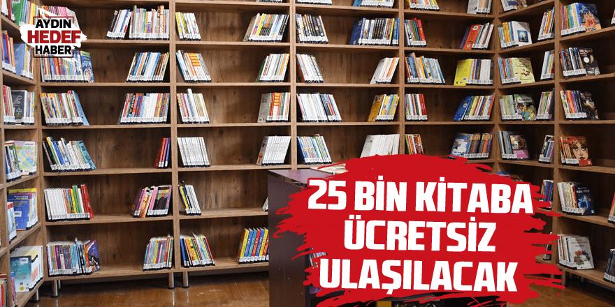25 bin kitaba ücretsiz ulaşılacak