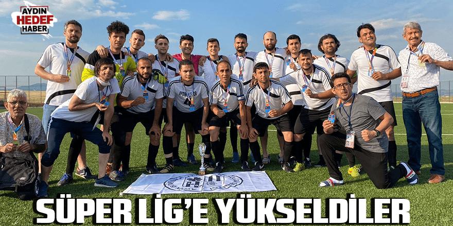 Süper Lig'e yükseldiler