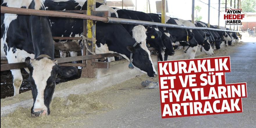 Kuraklık et ve süt fiyatlarını artıracak