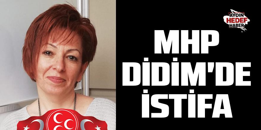 MHP Didim'de istifa