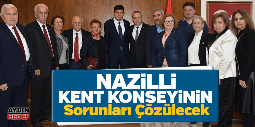 Nazilli Kent Konseyi'nin sorunları çözülecek