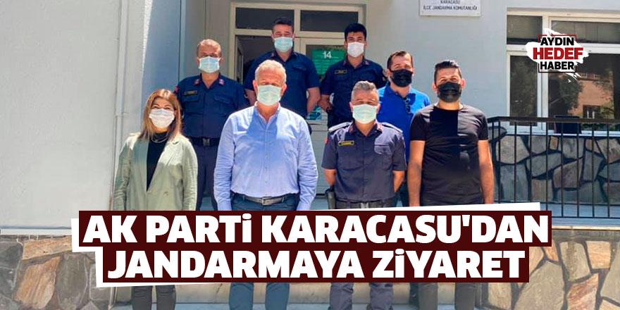 AK Parti Karacasu'dan Jandarma'ya ziyaret