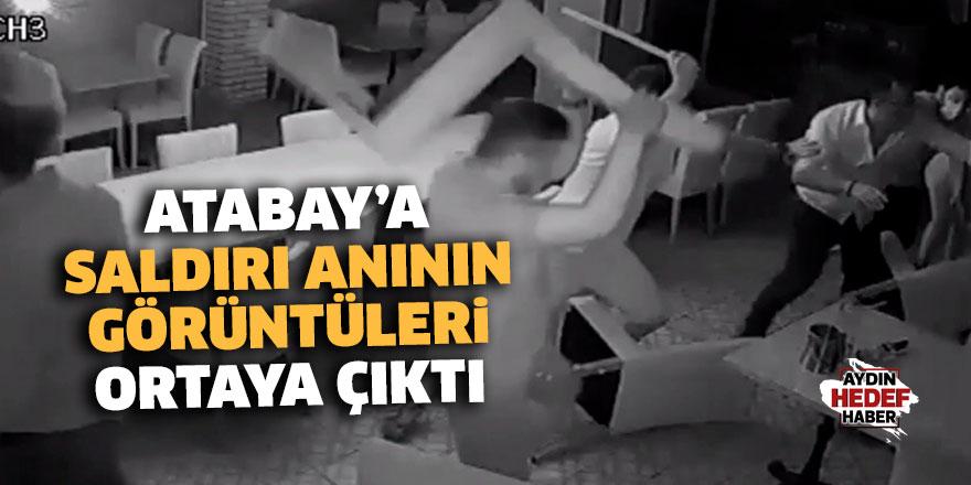 Başkan Atabay'a saldırı anının görüntüleri ortaya çıktı