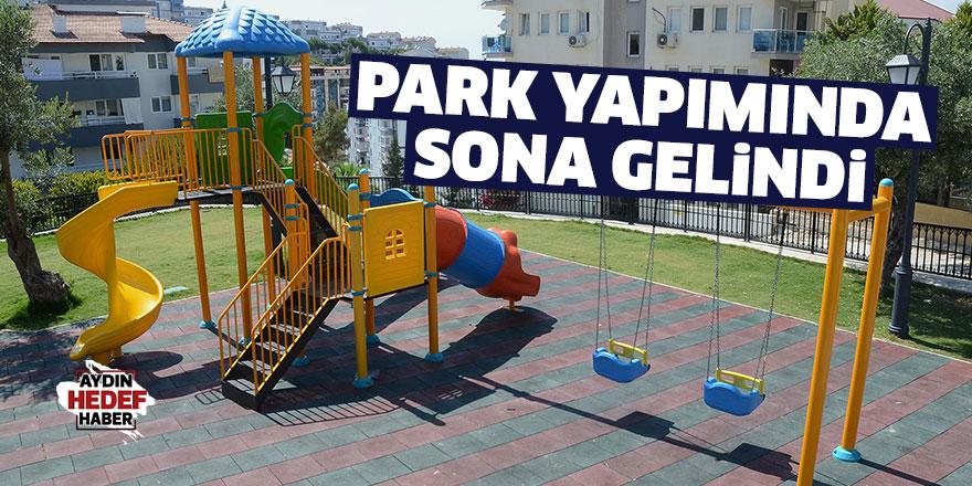 Zehra Kosova Parkı'nın Yapım Çalışmalarında Sona Gelindi