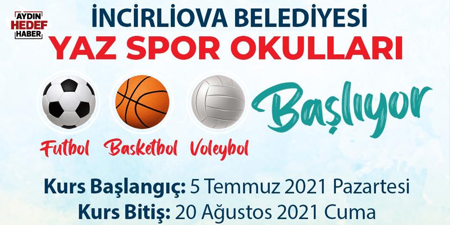 İncirliova'da yaz spor okulu kayıtları başladı
