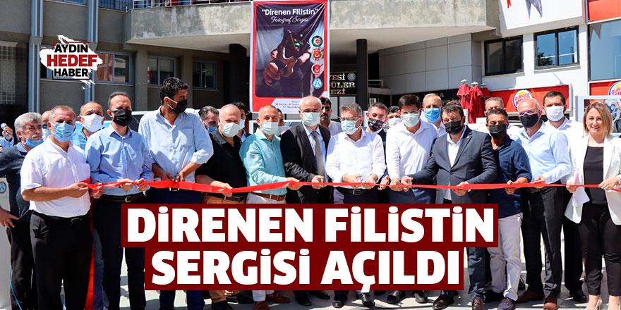 Direnen Filistin sergisi Nazilli'de açıldı